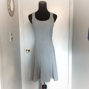 H&M Gray A Line Dress